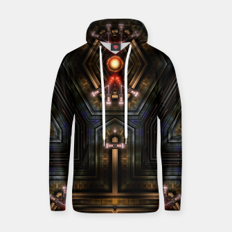 Thumbnail image of Orgatron Cotton hoodie, Live Heroes