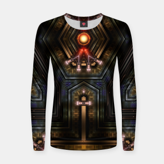 Thumbnail image of Orgatron Woman cotton sweater, Live Heroes