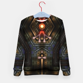 Thumbnail image of Orgatron Kid's sweater, Live Heroes