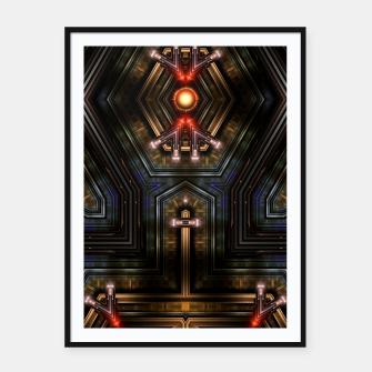 Thumbnail image of Orgatron Framed poster, Live Heroes