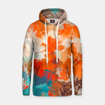 Thumbnail image of Pleasure Cotton hoodie, Live Heroes