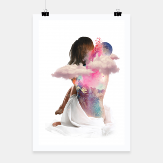 Thumbnail image of Sky Woman Poster, Live Heroes