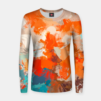 Thumbnail image of Pleasure Woman cotton sweater, Live Heroes