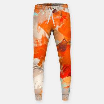 Thumbnail image of Pleasure Cotton sweatpants, Live Heroes