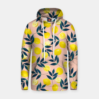 Thumbnail image of Lemony Goodness Cotton hoodie, Live Heroes