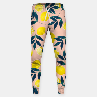 Thumbnail image of Lemony Goodness Cotton sweatpants, Live Heroes