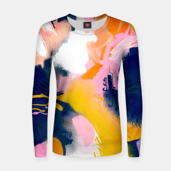 Thumbnail image of Deep dream Woman cotton sweater, Live Heroes
