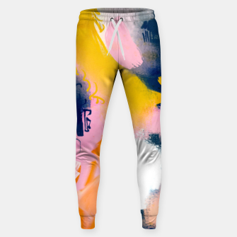 Thumbnail image of Deep dream Cotton sweatpants, Live Heroes