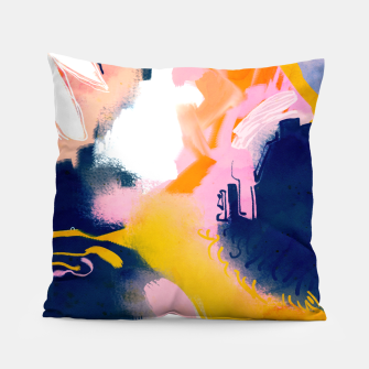 Thumbnail image of Deep dream Pillow, Live Heroes
