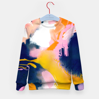 Thumbnail image of Deep dream Kid's sweater, Live Heroes