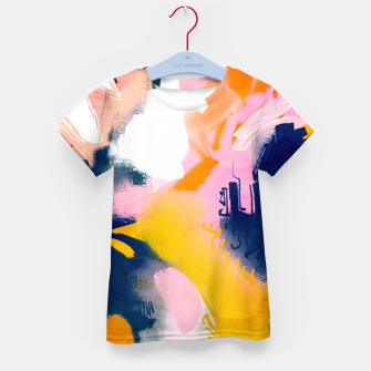 Thumbnail image of Deep dream Kid's t-shirt, Live Heroes