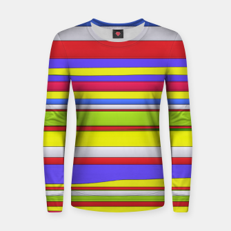 Thumbnail image of Hard horizons Woman cotton sweater, Live Heroes