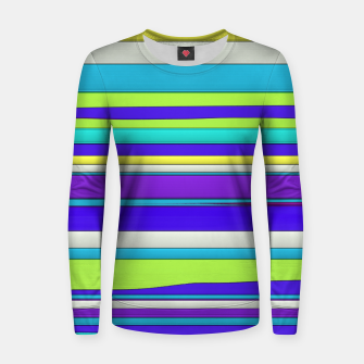Thumbnail image of Hard horizons 2 Woman cotton sweater, Live Heroes