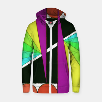 Thumbnail image of Simple cuts 2 Cotton zip up hoodie, Live Heroes