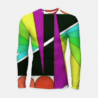 Thumbnail image of Simple cuts 2 Longsleeve rashguard , Live Heroes