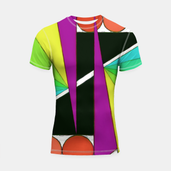 Thumbnail image of Simple cuts 2 Shortsleeve rashguard, Live Heroes