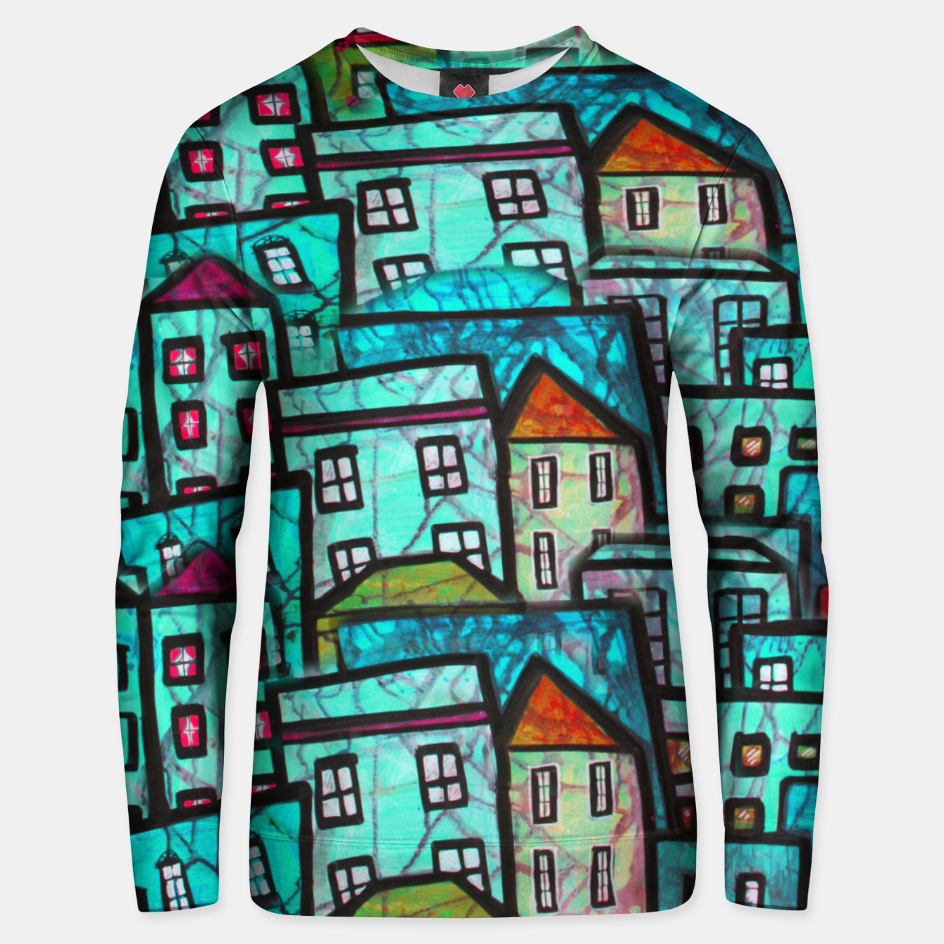 Image of Houses Sweater - Live Heroes