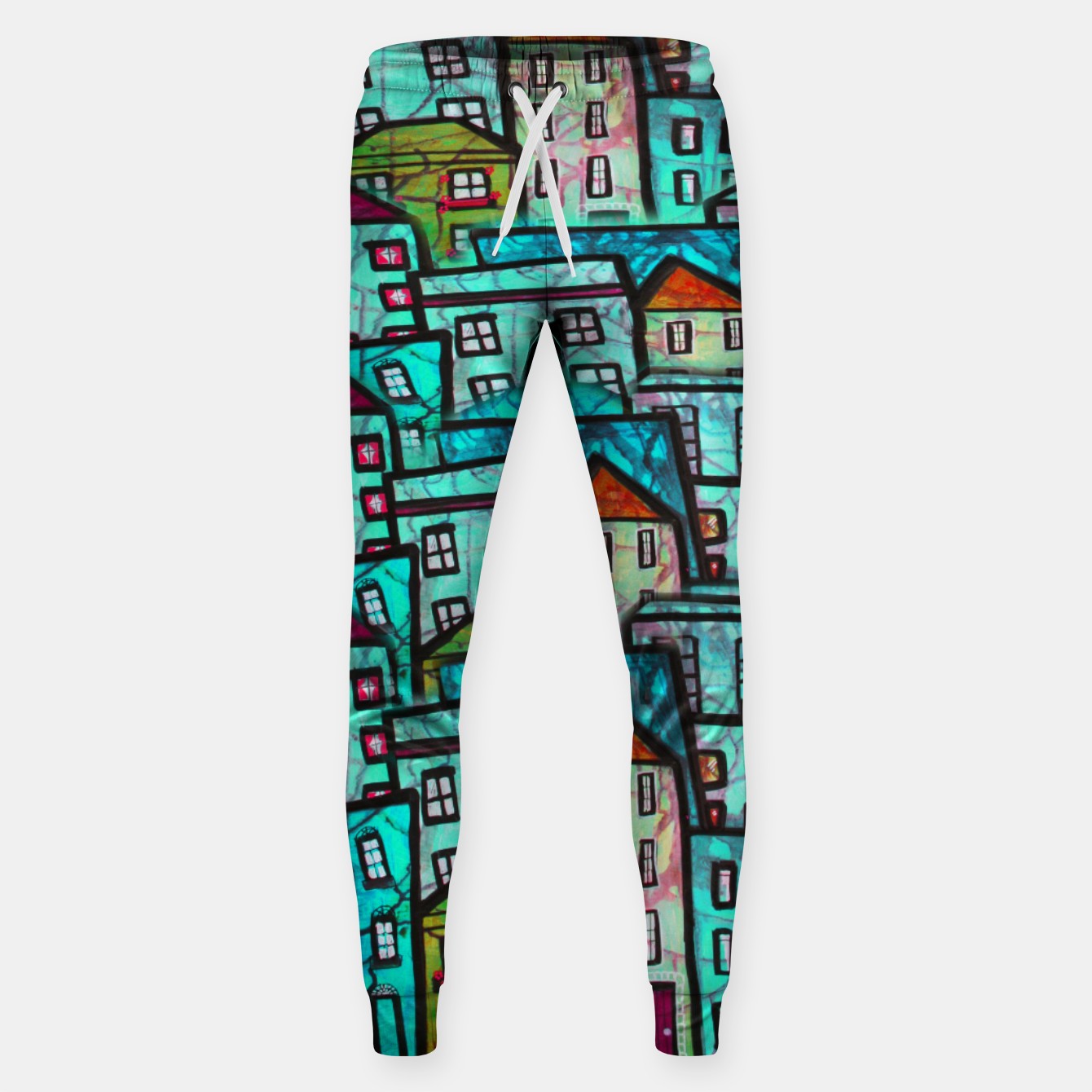 Image of Houses Sweatpants - Live Heroes