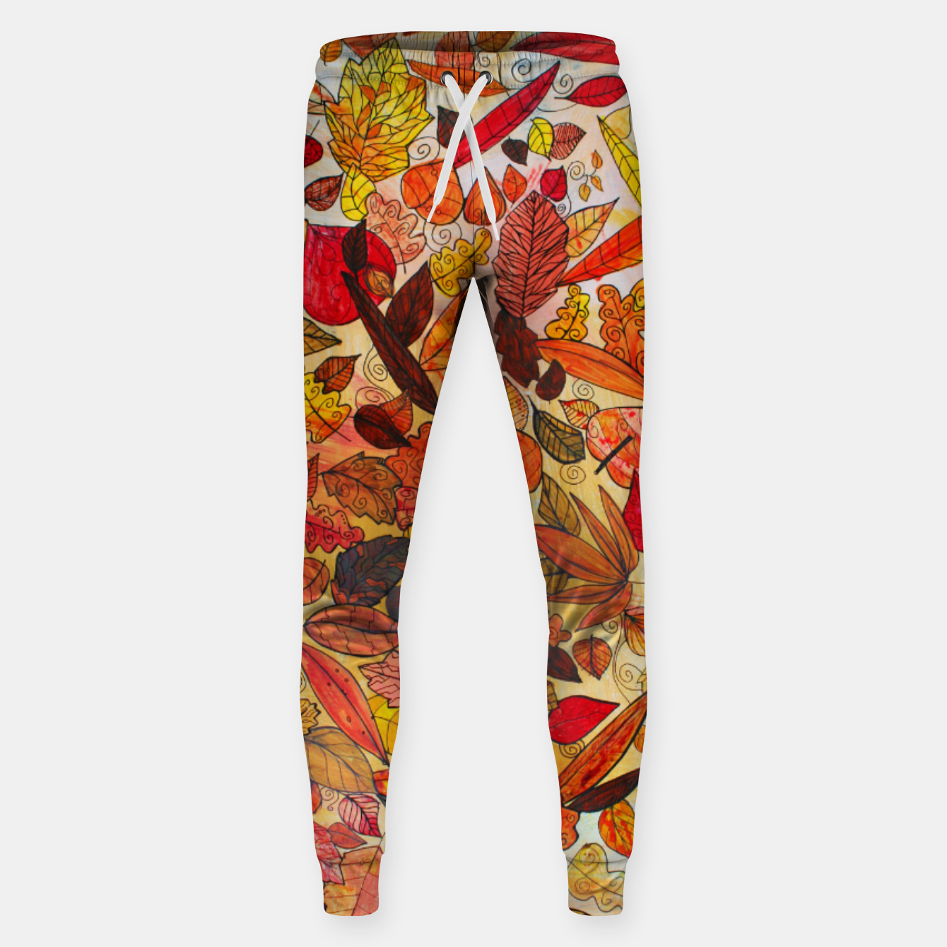 Image of Autumn Leaves Sweatpants - Live Heroes