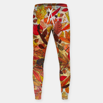 Thumbnail image of Autumn Leaves Sweatpants, Live Heroes