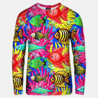 Thumbnail image of Fish Cute Colorful Doodles  Cotton sweater, Live Heroes