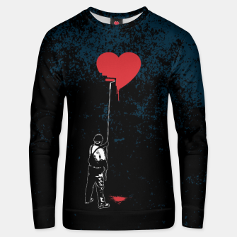 Thumbnail image of Heart Painter Graffiti Love Cotton sweater, Live Heroes