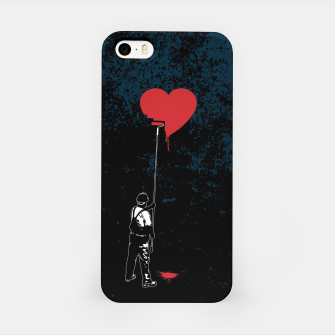 Thumbnail image of Heart Painter Graffiti Love iPhone Case, Live Heroes