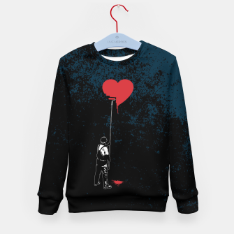 Thumbnail image of Heart Painter Graffiti Love Kid's sweater, Live Heroes