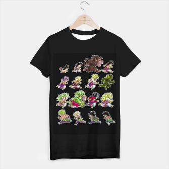 Miniatur Evolutions of Broly Camiseta Regular, Live Heroes
