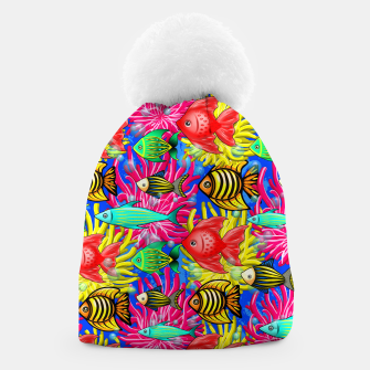 Thumbnail image of Fish Cute Colorful Doodles  Beanie, Live Heroes