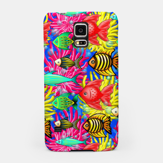 Thumbnail image of Fish Cute Colorful Doodles  Samsung Case, Live Heroes