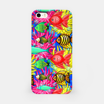 Thumbnail image of Fish Cute Colorful Doodles  iPhone Case, Live Heroes