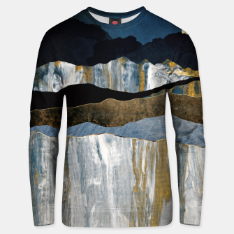 Thumbnail image of Painted Mountains Cotton sweater, Live Heroes