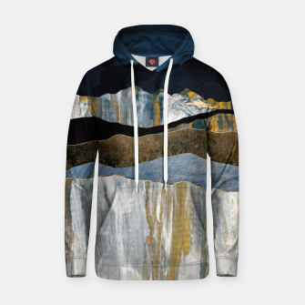 Thumbnail image of Painted Mountains Cotton hoodie, Live Heroes