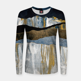 Thumbnail image of Painted Mountains Woman cotton sweater, Live Heroes