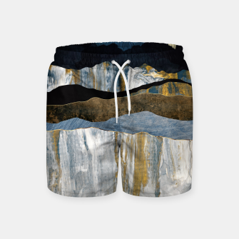 Thumbnail image of Painted Mountains Swim Shorts, Live Heroes