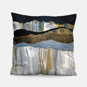 Thumbnail image of Painted Mountains Pillow, Live Heroes
