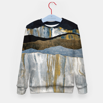 Thumbnail image of Painted Mountains Kid's sweater, Live Heroes