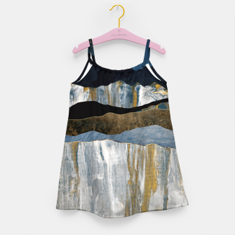 Thumbnail image of Painted Mountains Girl's dress, Live Heroes