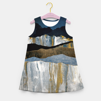 Thumbnail image of Painted Mountains Girl's summer dress, Live Heroes