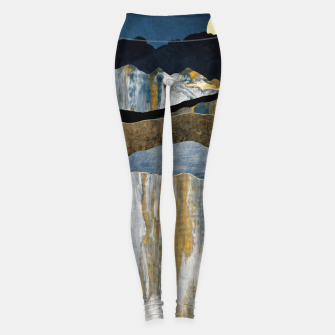 Thumbnail image of Painted Mountains Leggings, Live Heroes