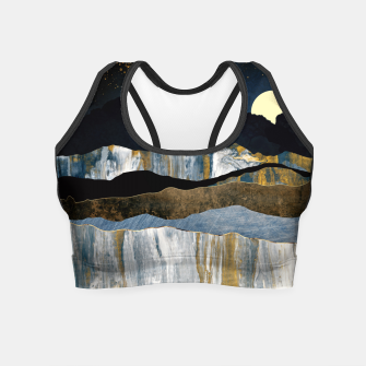 Thumbnail image of Painted Mountains Crop Top, Live Heroes