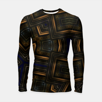 Vintage Abstraction Longsleeve rashguard