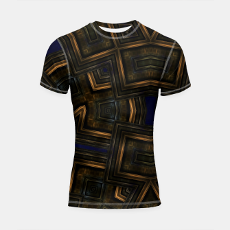 Vintage Abstraction Shortsleeve rashguard