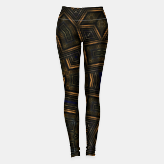 Vintage Abstraction Leggings