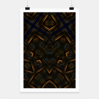 Thumbnail image of Rustic Cathedral Poster, Live Heroes