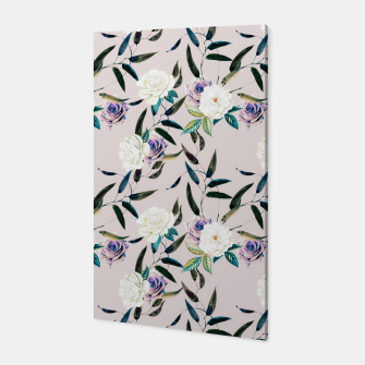 Thumbnail image of Flowery flowers pattern Canvas, Live Heroes
