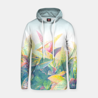 After the rain / Tropical Croton Leaves 4 Hoodie thumbnail image