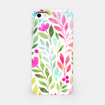 Thumbnail image of Floral circle iPhone Case, Live Heroes