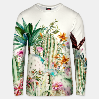 Thumbnail image of Blooming in the cactus Sudadera de algodón, Live Heroes